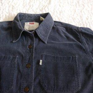 Women's Levi's white tab vintage corduroy shirt
